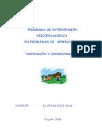 Programa de A y C