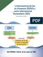 Derecho Internacional de Los Derechos Humanos y Derecho Internacional Humanitario