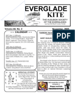 November 2003 Kite Newsletter Audubon Society of the Everglades