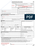 NC Voter Registration Form