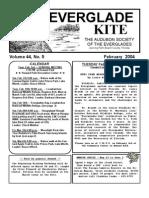 February 2004 Kite Newsletter Audubon Society of the Everglades