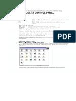 3-Aplicatia Control Panel
