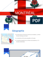 Montréal présentation