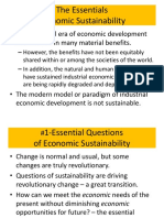 The Essential Economics of Sustainability Intro