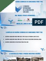 Ejemplo de Diseño Conexiones Prm y Pac Congreso Medellin