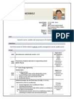 CV en -- Mehrez Mohamed --English