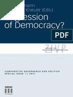 [Gero Erdmann, Marianne Kneuer] Regression of Demo