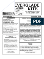 November 2004 Kite Newsletter Audubon Society of the Everglades