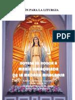Novena a María de La Medalla Milagrosa (Año de La Fe)