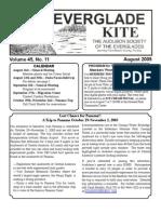 August 2005 Kite Newsletter Audubon Society of the Everglades