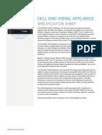 Vxrail 4.0 Spec Sheet
