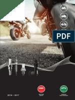 NGK NTK Catálogo Motocicletas 2016-2017