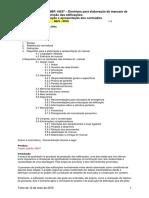 NBR 14037 - Manual de Operacao Uso e Manutencao Da