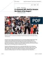 Ciaccia - 2017-09 - How Important is Amazon's NFL Deal for Amazon and the Future of the League?