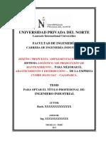 Modelo Tesis Ingeniería Industrial - UPN