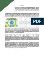 Biologia Informe Huella Ecologica