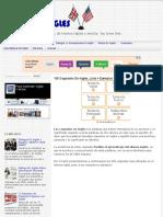 100 Cognados En Inglés, Lista + Ejemplos | Blog Para Aprender Ingles