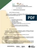 Invitación Coloquio Masculinidades Perú - PARTICIPANTES - 2017