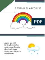 Como Se Forma El Arcoiris