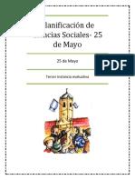 Planificación de Ciencias Sociales 25 de Mayo