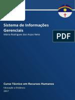 Caderno de Recursos Humanos -  Sistemas de Informações Gerenciais