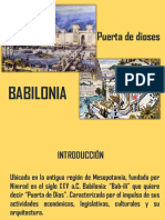 PRESENTACION ARQUITECTURA BABILONIA