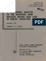 1959-A DIMENSIONAL ANALYSIS OF THE DEPARTURE FROM NUCLEATE BOILING HEAT FLUX IN FORCED CONVECTION.pdf