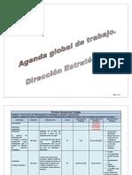 Agenda de Trabajo General