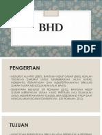 BHD presentasi