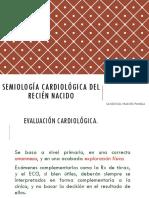 Semiologia Cardiovascular Del Rn
