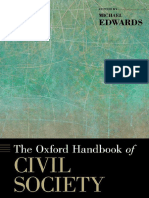 Michael Edwards - The Oxford Handbook of Civil Society