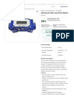 Ultrasonic Bio Gas Flow Meter _ GGE Power Pvt. Ltd