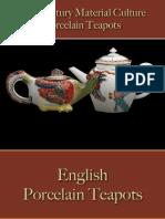 Drinking - Beverages - Tea Pots - Porcelain