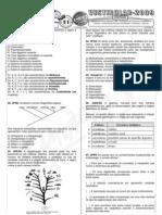Biologia - Pré-Vestibular Impacto - Características Gerais dos Invertebrados e Vertebrados - Exercícios