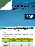 Kebijakan & Tatalaksana Diare & ISP