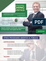 Certificacion Internacional en Coaching