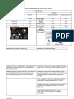 Placa de Especificaciones de Maquina Multiprocesos Infra 652