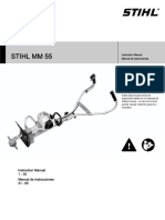 STIHL MM 55 Owners Instruction Manual