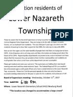Lower Nazareth Meeting
