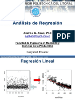 Analisis de Regresion - Espol