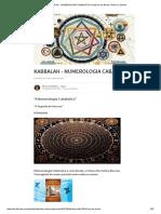 Kabbalah - Numerologia Cabalística _ Márcio de Borba _ Pulse _ Linkedin