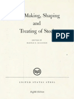 The Making Shaping Treating of Steel McGannon