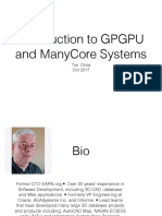 SVCC 2017 Introduction to GPGPU and ManyCore Systems Programming