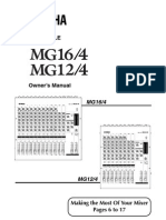 Mixer Yamaha Mg16 4e