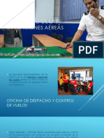 Desarrollo de Las Operaciones Aéreas