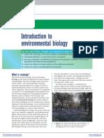 Pendahuluan Biologi Lingkungan