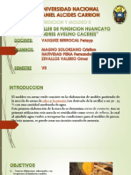 fundicion y mpldeo huancayo
