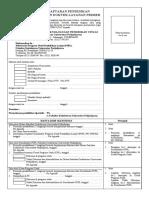 Formulir Lamaran Ppds Dan Dlp Revisi 2