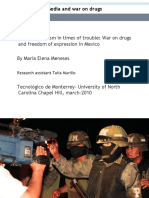 Periodismo y Narcotráfico (Media and War on Drugs)