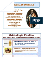 Cristología según San Pablo